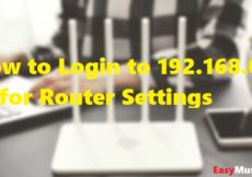 How to Login to 192.168.0.1 IP for Router Settings