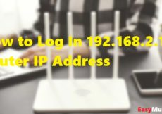 How to Log In 192.168.2.1 Router IP Address