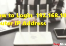 How to Login 192.168.10.1 Router IP Address