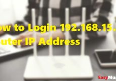 How to Login 192.168.15.1 Router IP Address