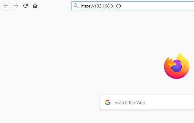 192.168.0.100 IP Admin Login